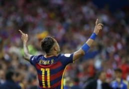"""Neymaras pasirašys naują sutartį su """"Barca"""""""