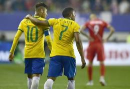 Atskleista olimpinė Brazilijos rinktinės sudėtis