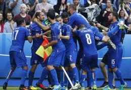 Saldų revanšą pasiekusi Italija nukarūnavo Europos čempionus (FOTO, VIDEO)