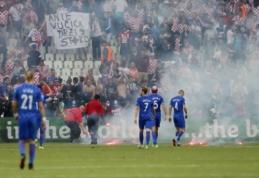 Kroatų sirgaliai planuoja naujus išpuolius, UEFA ėmėsi tyrimo