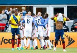 """""""Copa America"""": dvi raudonos kortelės ir JAV pergalė (VIDEO)"""