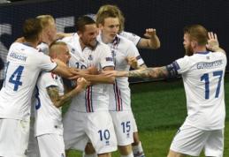 F grupėje - netikėtumas: islandai sugebėjo išplėšti lygiąsias prieš Portugaliją (VIDEO, FOTO)