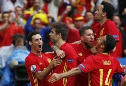 Paskelbta Ispanijos rinktinės sudėtis: čempionate nežais žvaigždė