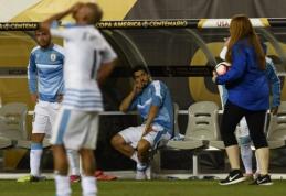 """""""Copa America"""": Urugvajus - paliktas už borto (VIDEO)"""