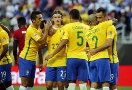 """""""Copa America"""": brazilai sumindė Haičio rinktinę (VIDEO)"""