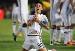 """""""Copa America"""": skirtingos Kolumbijos bei JAV pergalės (VIDEO)"""