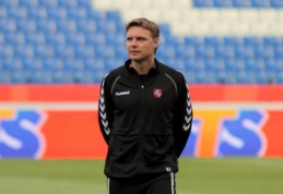"""E. Jankauskas: """"Siekiu, kad prieš rungtynes nebijotume"""""""