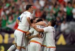 """""""Copa America"""" turnyre Meksika įveikė Urugvajų (VIDEO)"""