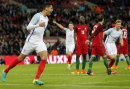 C. Smallingo įvartis parklupdė dešimtyje žaidusius portugalus (VIDEO)