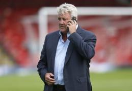 """""""Hull City"""" patvirtino, kad S. Bruce'as derasi dėl darbo Anglijos rinktinėje"""