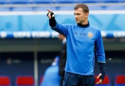 Naujuoju Ukrainos rinktinės treneriu tapo legendinis A.Ševčenka