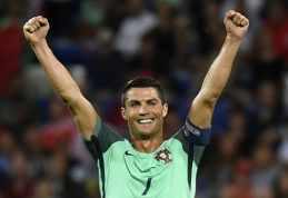 """A.Pogrebnojus: """"Prancūzai neturi nė vieno tokio žaidėjo kaip C.Ronaldo"""""""