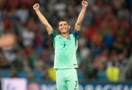 C. Ronaldo: parodėme, kad Portugalijos rinktinė nėra tik aš