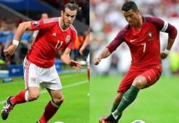 C. Ancelotti apie būsimą G. Bale' ir C. Ronaldo dvikovą: visi didieji žaidėjai yra konkurentai