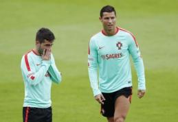 Kapitono žodis: C. Ronaldo įtikino J. Moutinho mušti 11 m. baudinį (VIDEO)