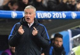 D. Deschampsas: šiuo metu nėra geresnės komandos už Vokietiją