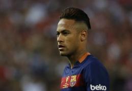 Neymaras - geriausiai pasaulyje apmokamas futbolininkas