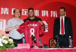 Oficialu: Hulkas į Kiniją keliasi už rekordinę sumą Azijos futbolui
