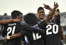 """""""Real"""" sezoną Ispanijoje pradėjo nesunkia pergale, """"Atletico"""" dramatiškai neįveikė lygos naujokų (VIDEO)"""