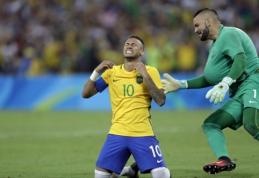 Olimpinių žaidynių finale - Brazilijos triumfas po 11 m. baudinių serijos (VIDEO)