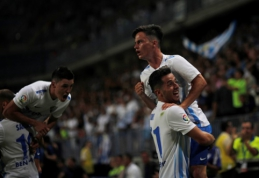 """La Liga"" starte - ""Malaga"" ir ""Osasuna"" lygiosios bei ""Deportivo"" pergalė (VIDEO)"