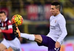 """Oficialu: C. Tello antrą sezoną iš eilės skolinamas """"Fiorentina"""" ekipai"""