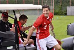 A. Wengeras pasirengęs paploninti piniginę dėl R. Lewandowski arba A. Griezmanno