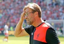 """""""Liverpool"""" patyrė gėdą prieš """"Mainz"""", """"Chelsea"""" įveikė """"Werder"""" (VIDEO)"""
