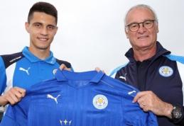 """Oficialu: Lenkijos futbolo talentas B. Kapustka rungtyniaus """"Leicester City"""" ekipoje"""