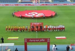 Keturiolikmečiai Lietuvos futbolininkai Lenkijoje patyrė pažeminimą (VIDEO)
