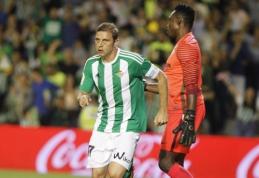 """""""Real Betis"""" minimaliu skirtumu pranoko """"Malaga"""" (VIDEO)"""