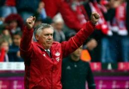 C. Ancelotti apie PSG norą įsigyti R. Lewandowskį: tai neįmanoma