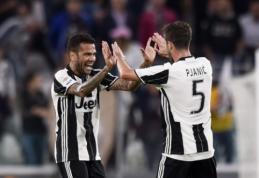 """""""Napoli"""" lygiųjų dėka """"Juventus"""" susigrąžino pirmąją """"Serie A"""" vietą (VIDEO)"""