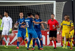 """Neįtikėtinos """"Zenit"""" pergalės metu buvo panaudota nauja FIFA taisyklė (VIDEO)"""