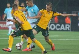 Lietuvos rinktinė kyla į viršų FIFA reitinge