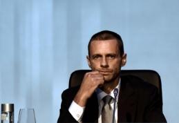 UEFA turi naują prezidentą: Europos futbolui vadovaus slovėnas A. Čeferinas