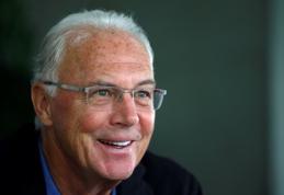 F. Beckenbauerio pavardė minima korupcijos skandale