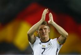 B. Schweinsteigeris emocingai atsisveikino su Vokietijos rinktine (VIDEO)