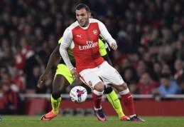 """""""Arsenal"""" naujokas L. Perezas nerungtyniaus apie aštuonias savaites"""