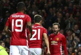 """Lygos taurė: """"Man Utd"""" nugalėjo """"Man City"""", """"Chelsea"""" baigė pasirodymą (VIDEO)"""