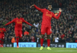 """""""Arsenal"""" ir """"Liverpool"""" žengė į Anglijos lygos taurės ketvirtfinalį (VIDEO)"""