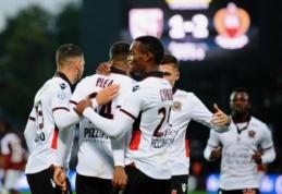 """Ligue 1: """"Nice"""" ir """"Saint-Etienne"""" įveikė varžovus, PSG ir """"Marseille"""" mače - lygiosios (VIDEO)"""