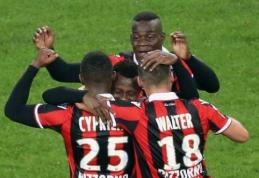 """""""Toulouse"""" įveikė """"Monaco"""", """"Nice"""" nugalėjo """"Lyon"""" ir padidino pranašumą prieš persekiotojus (VIDEO)"""