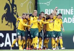 Iš klaidų pasimokyta: Lietuvos rinktinė nugalėjo Maltą ir įsirašė pirmąją pergalę PČ atrankoje (VIDEO, FOTO)