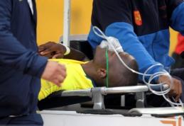 Ekvadoro futbolininkas suvaidino traumą, kad paspruktų nuo policijos (VIDEO)