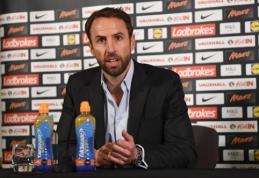Laikinasis Anglijos rinktinės treneris G. Southgate'as atskleidė komandos sudėtį