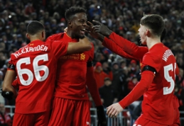 """""""Liverpool"""" ir """"Hull City"""" prasibrovė į Anglijos lygos taurės pusfinalį (VIDEO)"""