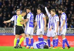 """Dominavęs """"Real Sociedad"""" sužaidė lygiosiomis su """"Barca"""", """"Atletico"""" sutriuškino """"Osasuna"""" (VIDEO)"""