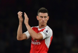 """Prancūzijos spauda: L. Koscielny pratęs sutartį su """"Arsenal"""""""