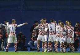 PČ atranka: kroatai ir turkai šventė užtikrintas pergales (VIDEO)